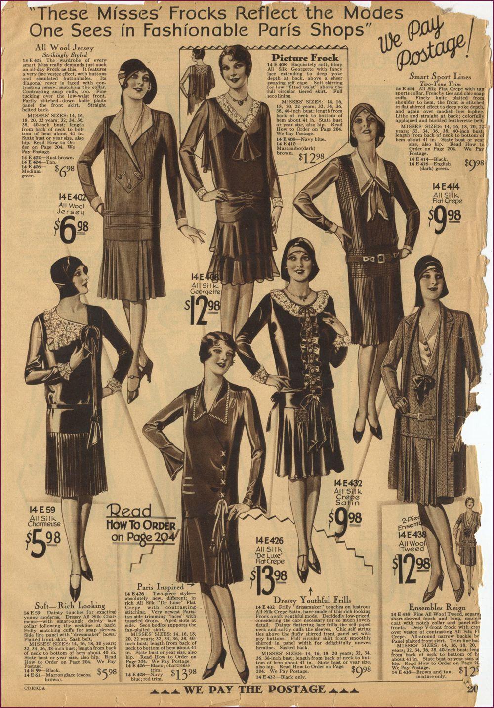 Montgomery Ward Fall/Winter 1929/30
