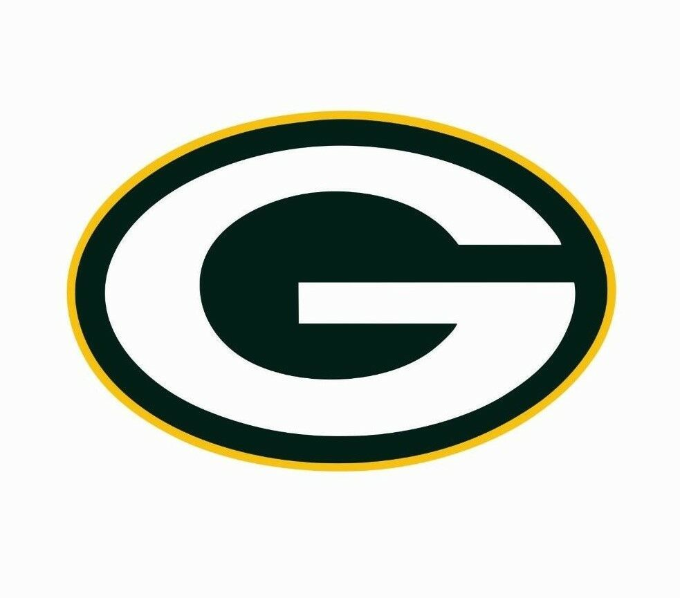 Green Bay Packers Nfl Football Color Logo Sports Decal Sticker Free Shipping Green Bay Packers Logo Green Bay Packers Colors Green Bay Packers