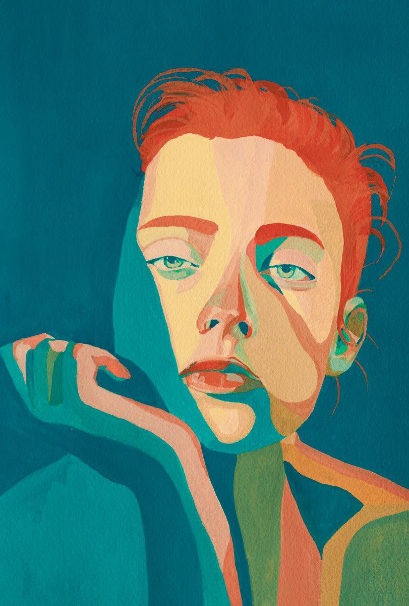 Portraits. Handmade illustrations