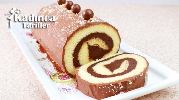 Kakaolu Rulo Pasta Tarifi, Nasıl Yapılır #rollcake