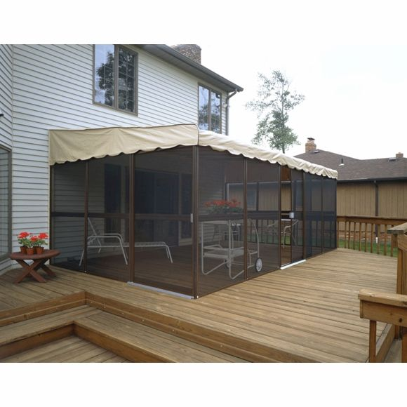 Patio Mate Screened Enclosure 11 6 X 19 3 Patio Enclosures Screen Enclosures Outdoor Patio