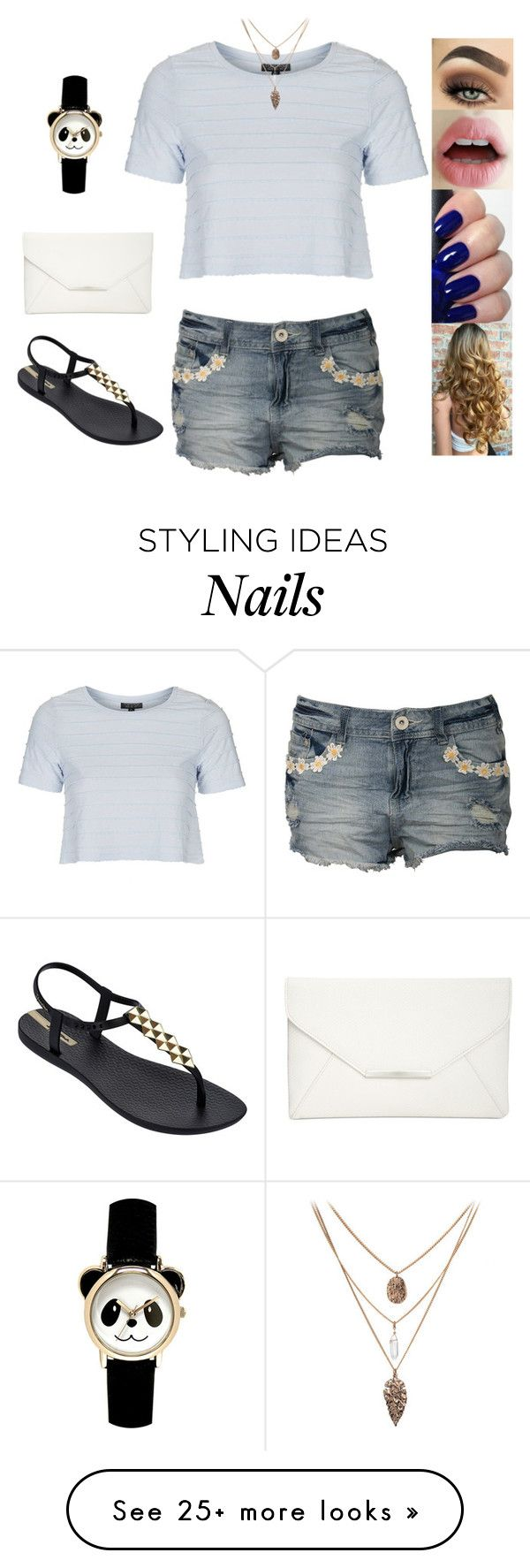 """Untitled #3740"" by sigalv on Polyvore featuring Topshop, Pilot, IPANEMA and Style & Co."