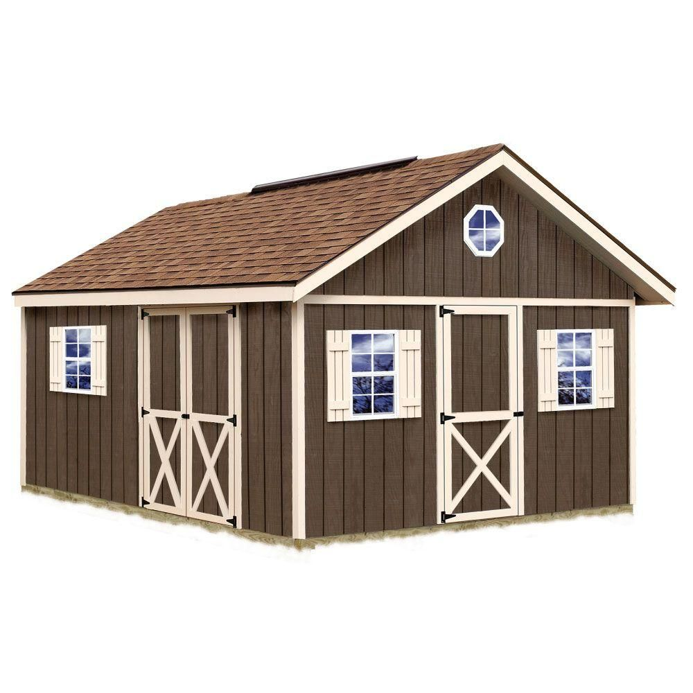 Best Barns Fairview 12 Ft X 16 Ft Wood Storage Shed Kit With Floor Fairview 1216f At The Home Depot Storage Shed Kits Wood Storage Sheds Shed Kits