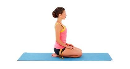 thunderbolt pose stiff neck and shoulders better posture