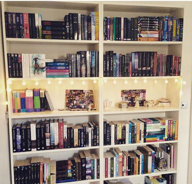 Amberthebooklion I Rearranged My Shelves Again And