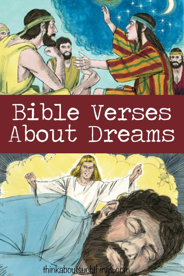 The Ultimate List of Bible Verses About Dreams | Gods Living