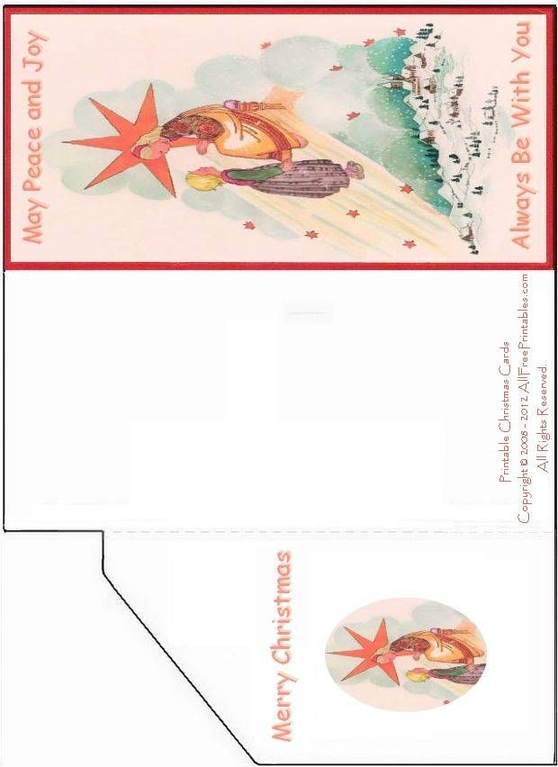 Free Printable Christmas Cards | Free Printable Money Card or ...