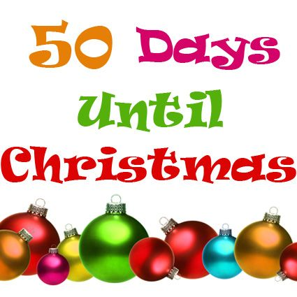 50 Days Until Christmas! As of Nov. 4th! Are you ready?! http ...