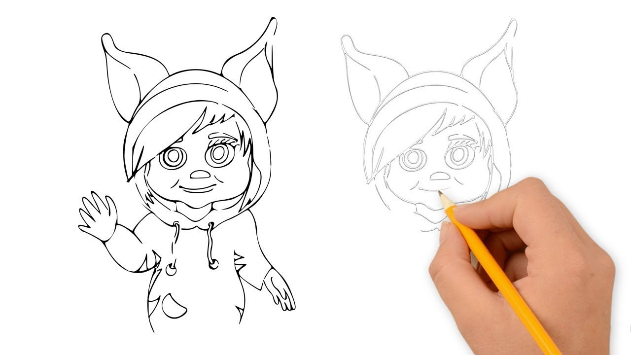 How to draw ava from dave and ava youtube dave and