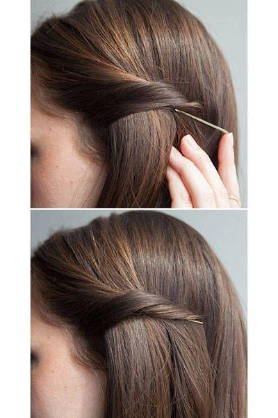 20 New Ways To Use Bobby Pins Beauty Hair Hair Styles Hair