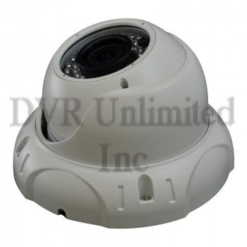 Vandal Proof Dome : CMDW081 Vandal Proof 700TVL Nightvision Vari-Focal Dome Camera