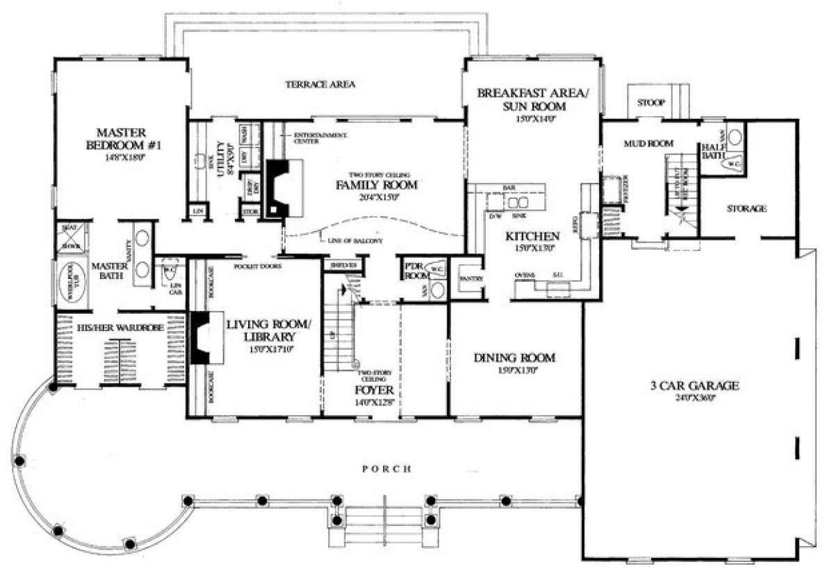 House Plan 7922 00194 Farmhouse Plan 3 728 Square Feet 4 Bedrooms 4 Bathrooms Victorian House Plans House Plans House Plans Farmhouse