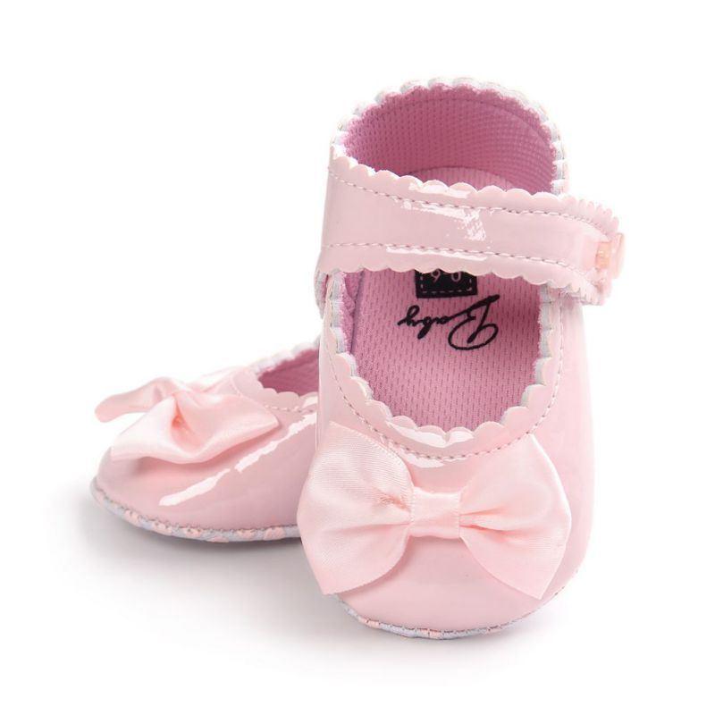 Nice 2017 Autumn Infant Baby Boy Soft Sole Pu Leather First Walkers Crib Bow Shoes 0 18 Months Baby Moccasins S Baby Moccasin Shoes Baby Shop Online Baby Shoes