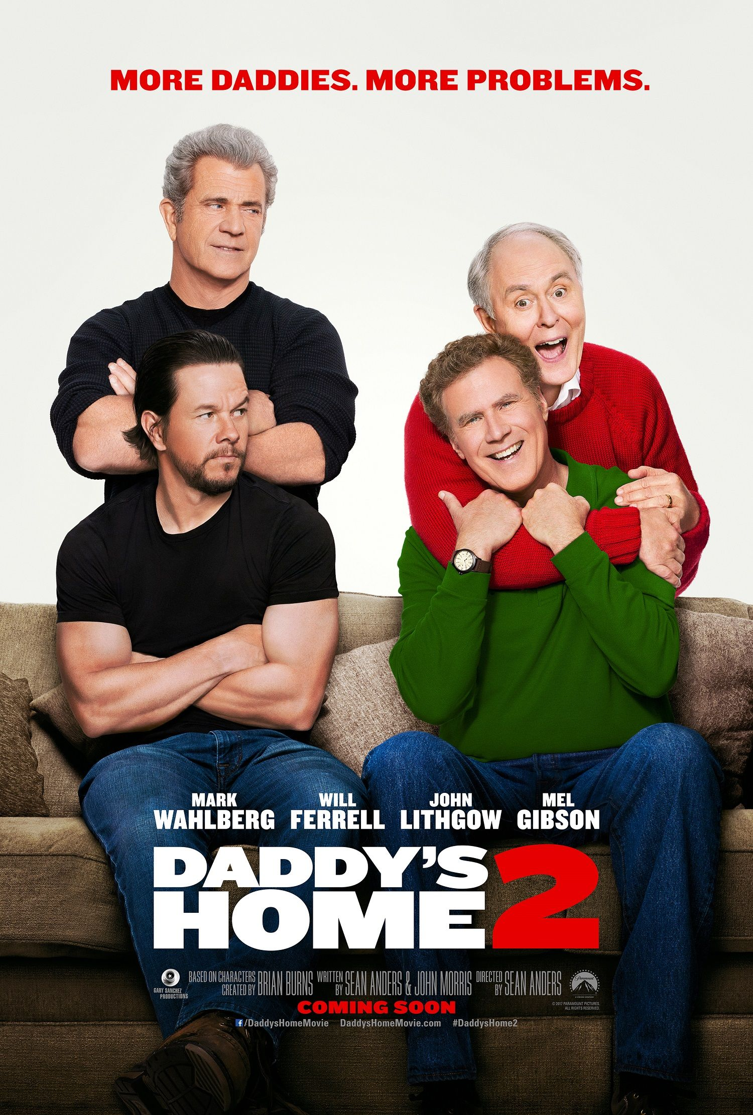 watch mel gibson and john lithgow in the daddy s home 2 trailer