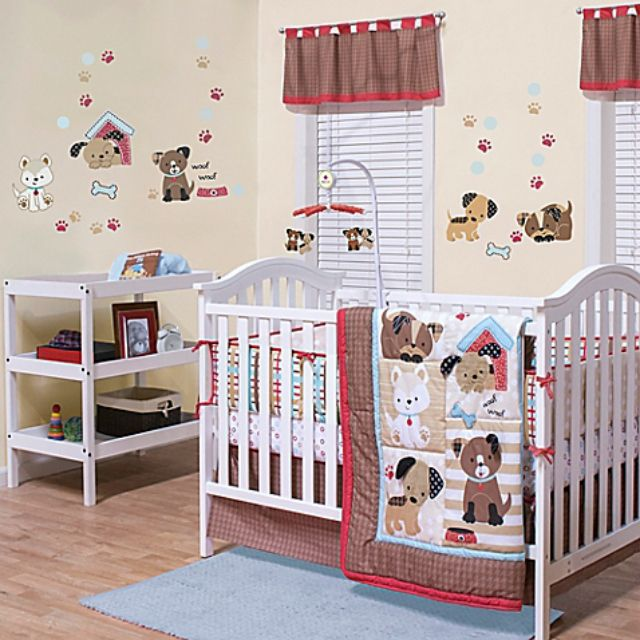 Dog Themed Baby Nursery