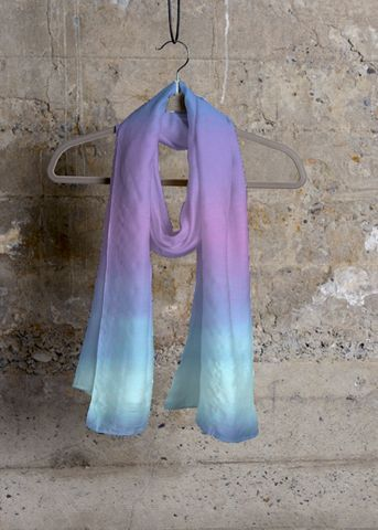 Cheap Sale Low Cost Cheap Price Original Cashmere Silk Scarf - Looking Up by VIDA VIDA Sale Good Selling 5nyu8d