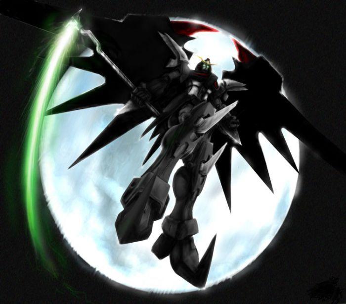 deathscythe hell custom gundam wing ew gundamnit
