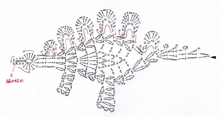 Crochetpedia: 2D Crochet Dinosaur and Dragon Applique