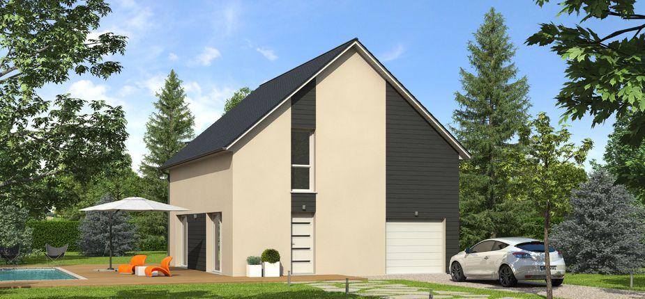 Le modèle Nativéo Ardoise Ce modèle de maison NATIVEO, disponible en - modele de construction maison