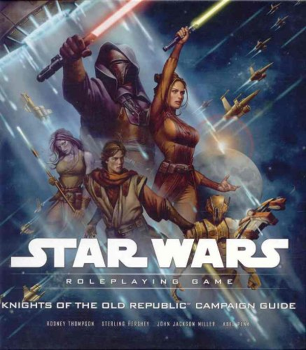 Knights Of The Old Republic Campaign Guide Star Wars Roleplaying Game By Rodney Thompson Wizards Of The Coast Star Wars Roleplaying Game Star Wars Books The Old Republic