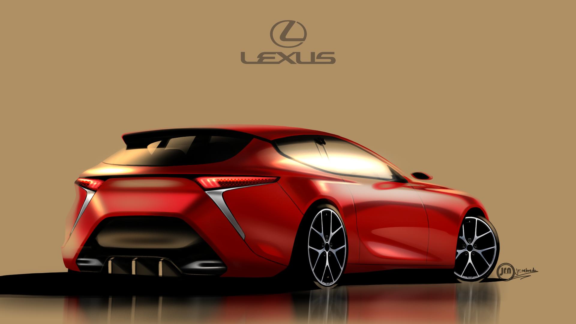 Echa Un Vistazo A Mi Proyecto Behance Lexus Ct Concept Backside Https Www Behance Net Gallery 57794717 Lexus Ct Concept Lexus Car Inspiration New Engine