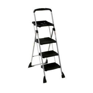 Awe Inspiring Cosco 4 Ft Steel Max Work Platform Ladder With 225 Lbs Pdpeps Interior Chair Design Pdpepsorg