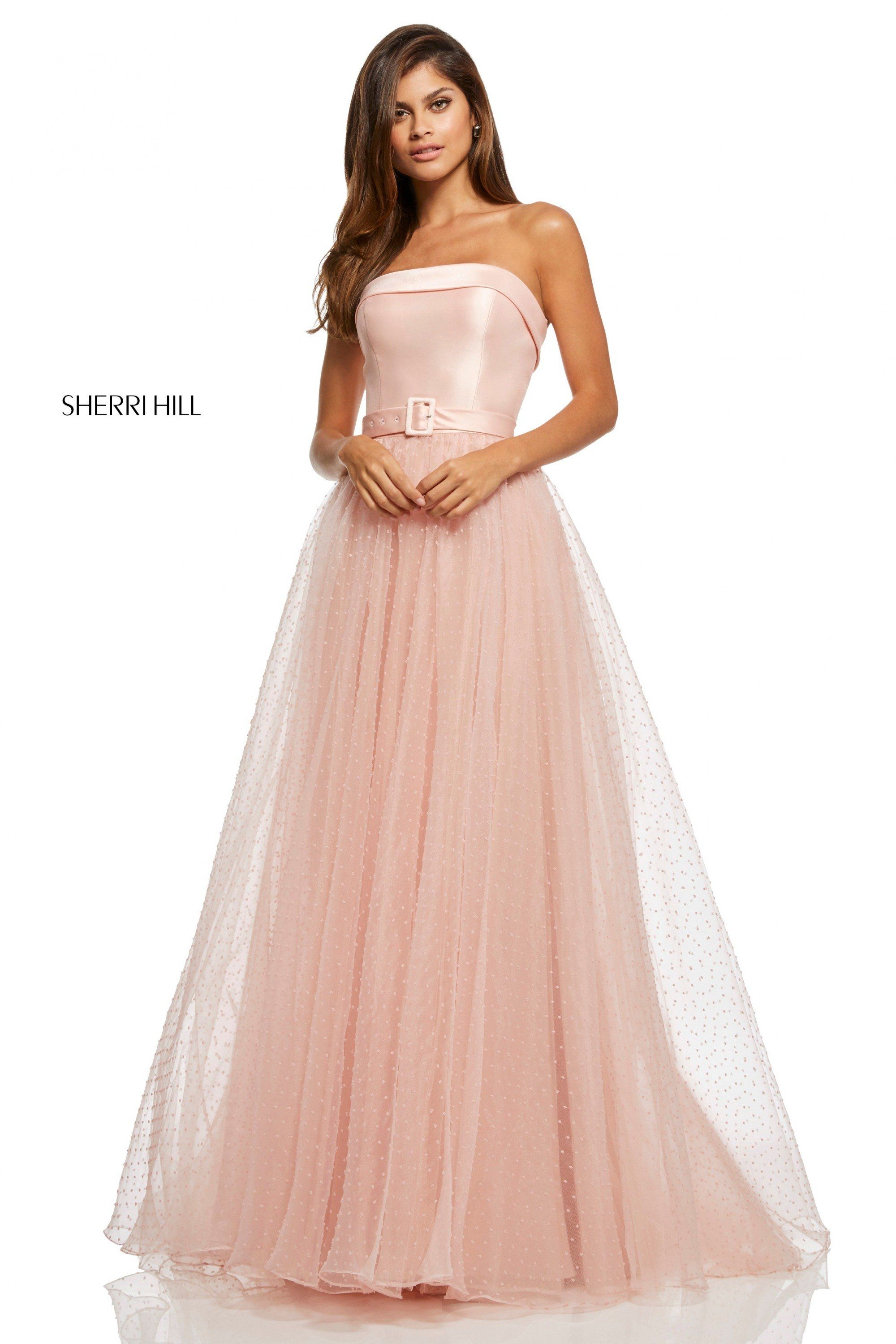 5eabdcf764b Sherri Hill prom dress style 52709 in 2019