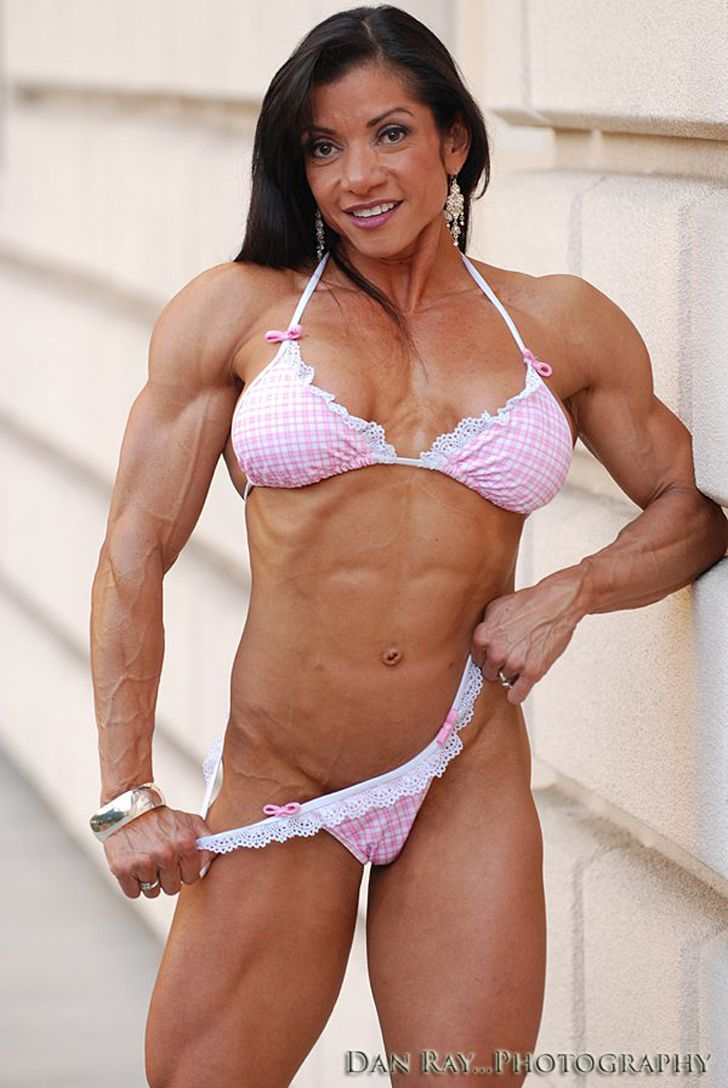 Mature muscle woman