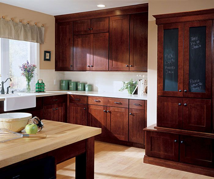 Shaker Style Countertops And Style On Pinterest: Kemper Northrop Cabinets