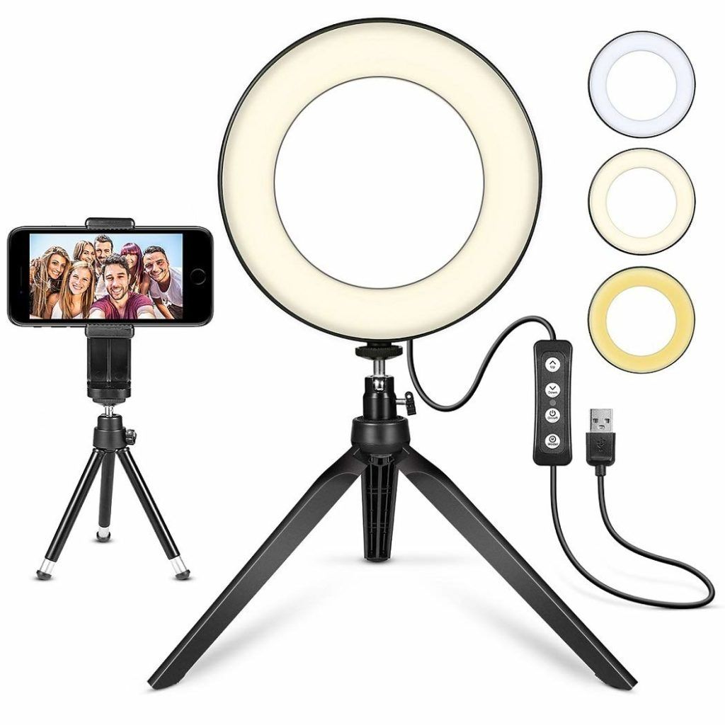 50 Off Led Ring Light 6 With Tripod Stand Budget Nerds Visit Www Budgetnerds Club For More Deals Prices Are Subj Selfie Ring Light Led Ring Light Led Ring