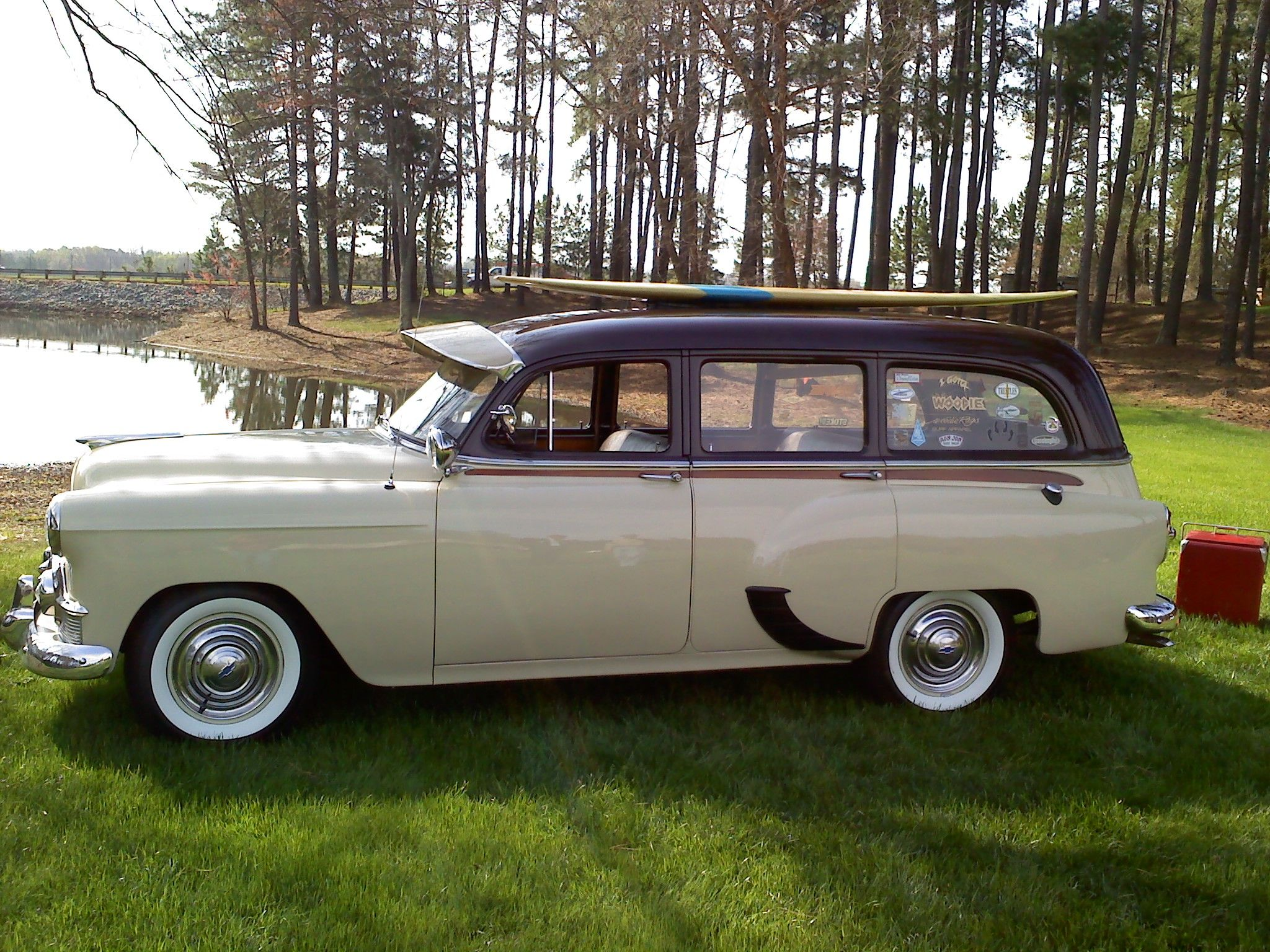 1953 Chevrolet Tin Woodie Wagon Only Restored Mahogany