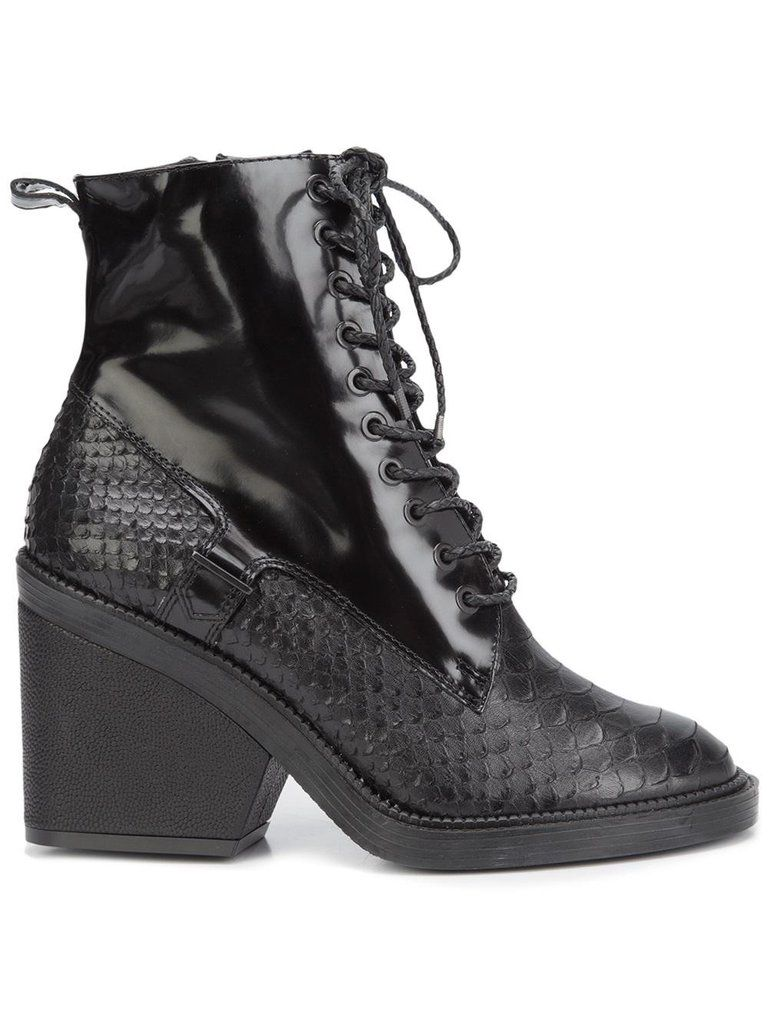 42e928b8fa2 Bono Boots | Robert Clergerie | Fashion, Shoes, Chunky heel ankle boots