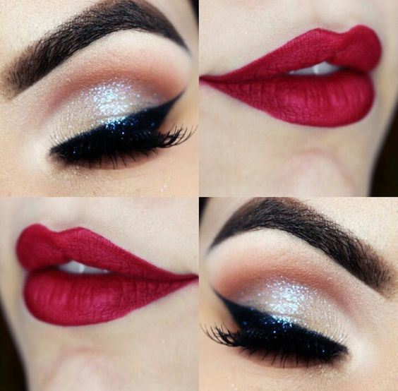 Photo of 21 Red Lip Makeup Ideas
