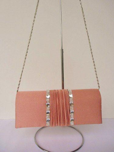 34ca2c7bd Bolsa Festa Clutch Rosa Alça Longa Corrente - R$ 39,90 | couture ...