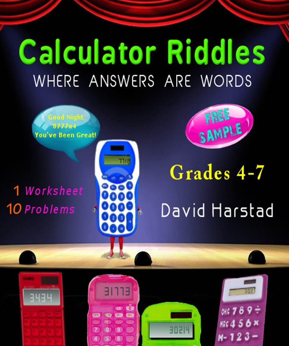 Free Math Worksheet Kindle Paperback Versions Available On