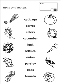 worksheets for learning english vocabulary fruits and vegetables pinterest english. Black Bedroom Furniture Sets. Home Design Ideas