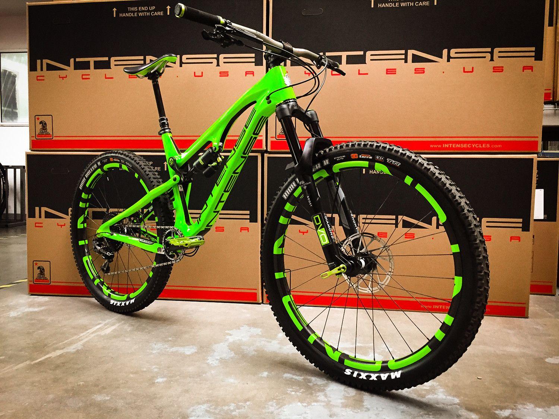 Intense Spider Green Goblin 1500 1125 Enduro Mtb Bike