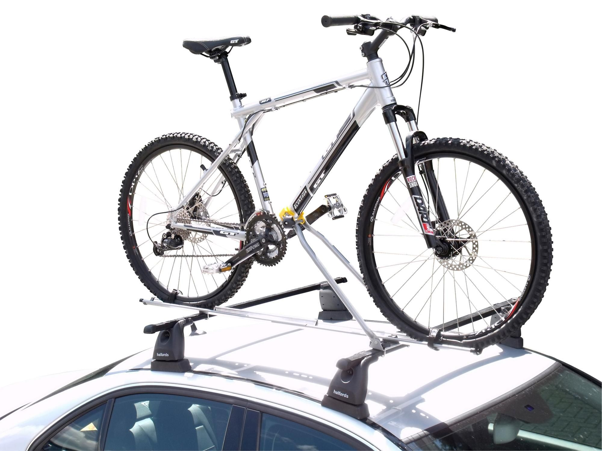 The Halfords Value Roof Mount Cycle Carrier Is The Safest Way Of