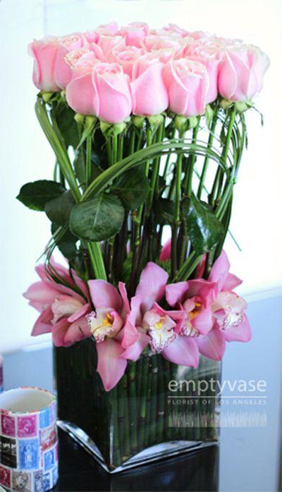 Empty Vase Florist Of Los Angeles Party Ideas Flowers Pinterest