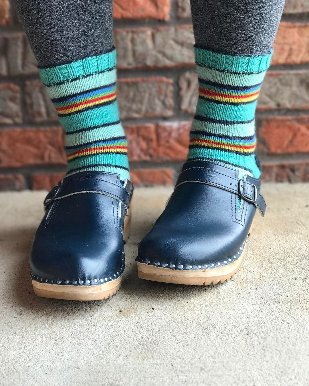 dailyknitsocks Today\'s office wear. Yarn: Coloring Book Yarns on ...