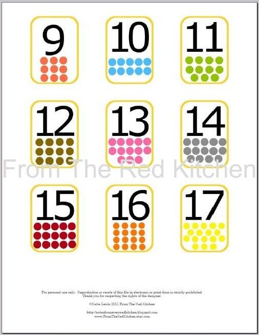 Number Flashcards 0 20 With Math Symbols Pdf Number Flashcards