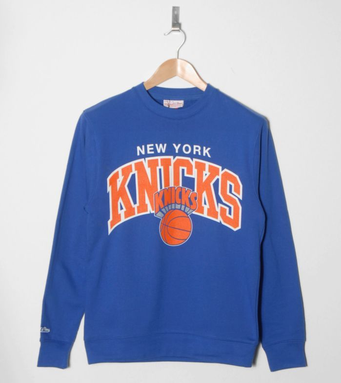 cheaper b8dec b2624 Mitchell   Ness New York Knicks Sweatshirt