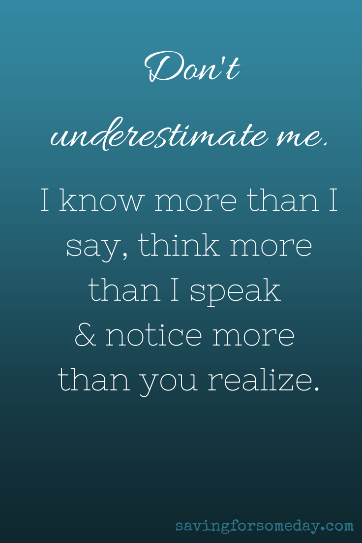 Dont Underestimate Me Quote Quotes And Beautiful Sayings