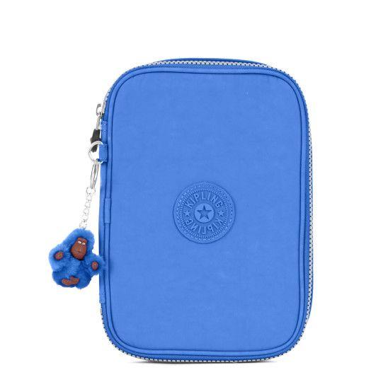 90908ecce 100 Pens Case - Sailor Blue | Kipling | Blue Bag/Pouch