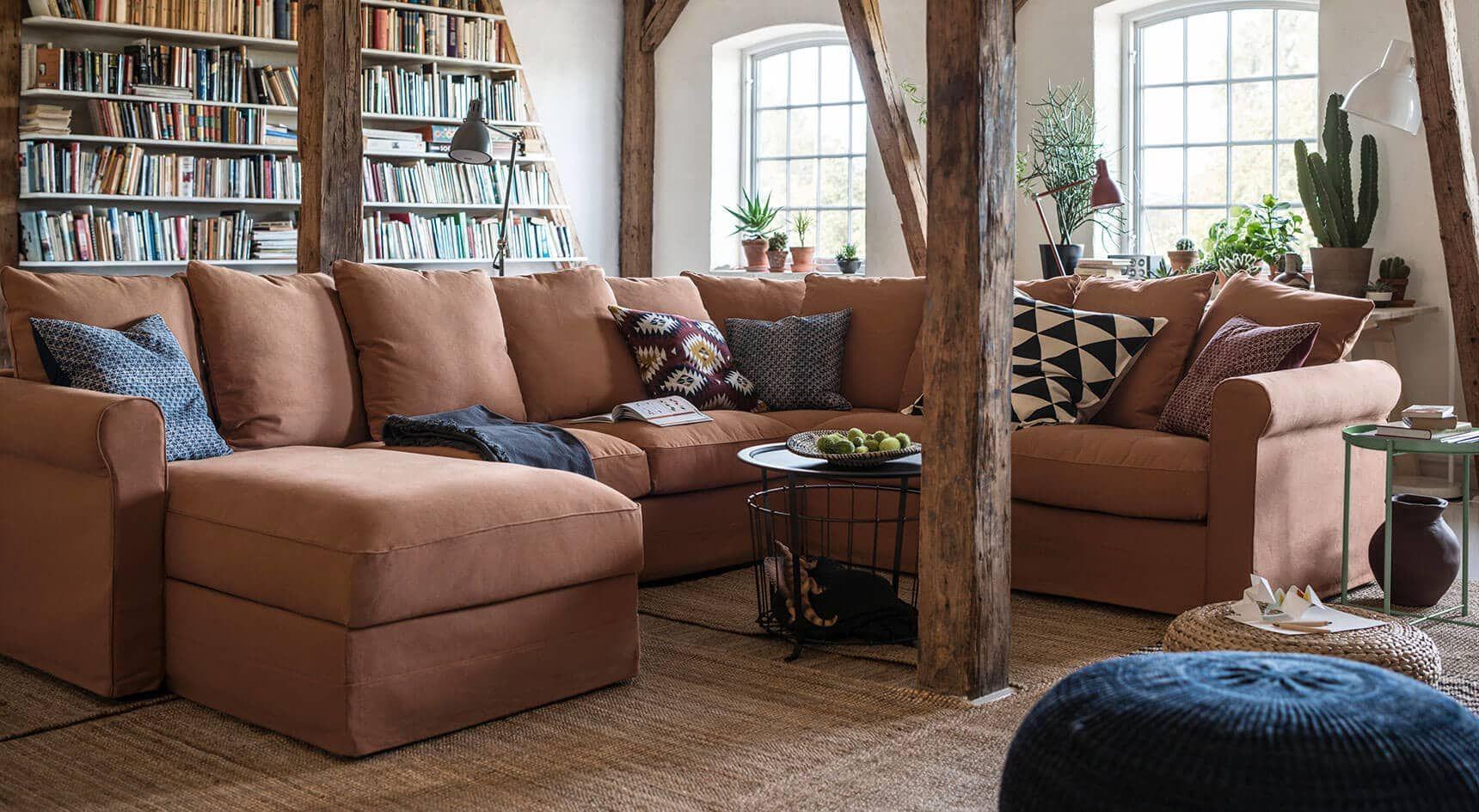 Introducing the versatile new GRÖNLID sectional sofa