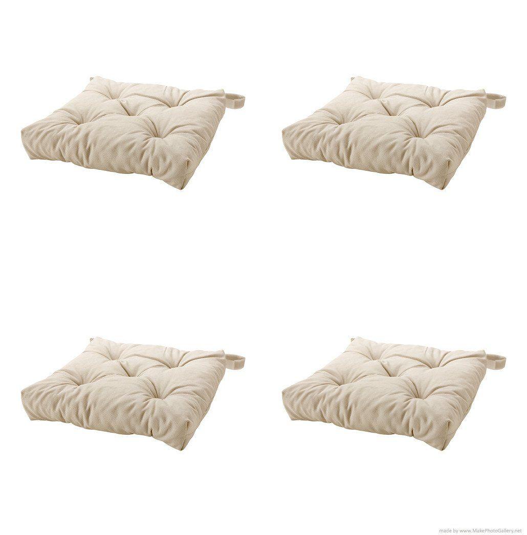 Amazon Com Ikea S Malinda Chair Cushion Light Beige 4