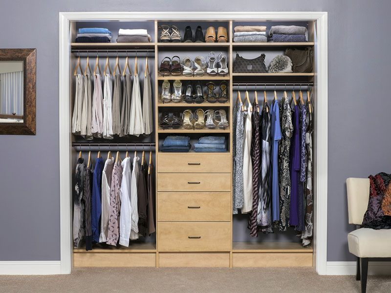Womens Reach In Closet Reach In Closet Organization Project Ideas Closet