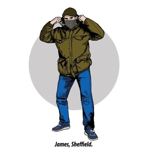 Thugs And Dressers Sheffield Ma Strum Aquascutum Gaya Kasual Ilustrasi Desain Logo