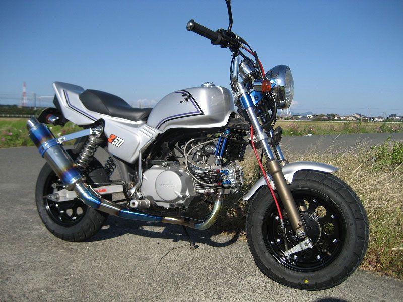 Z50 Monkey With Honda Cb Body Kit Body Kit Honda Cb Honda