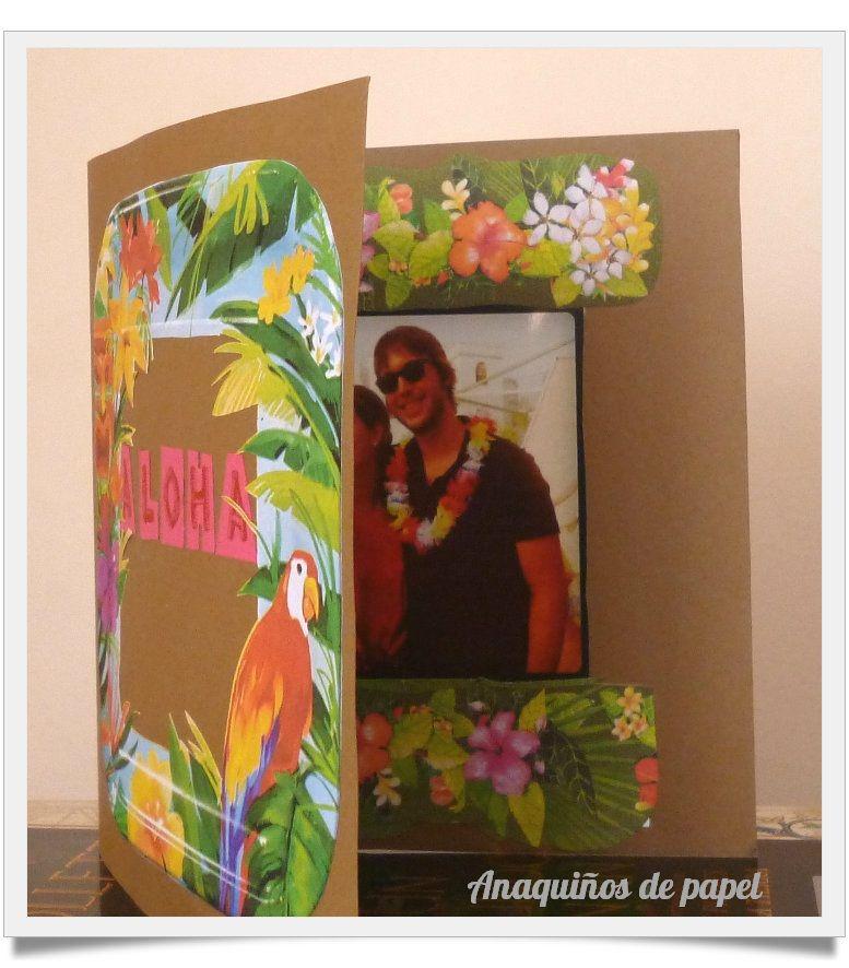 "Tarjeta personalizada ""aloha"""